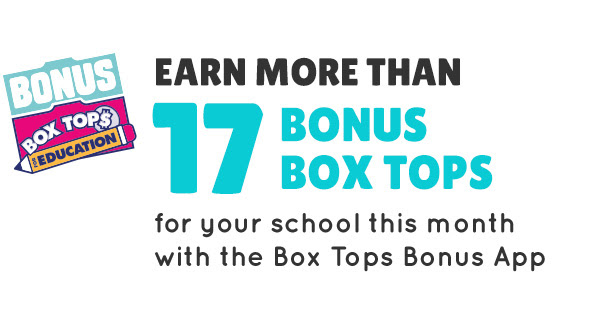 Earn more than 17 bonus box tops