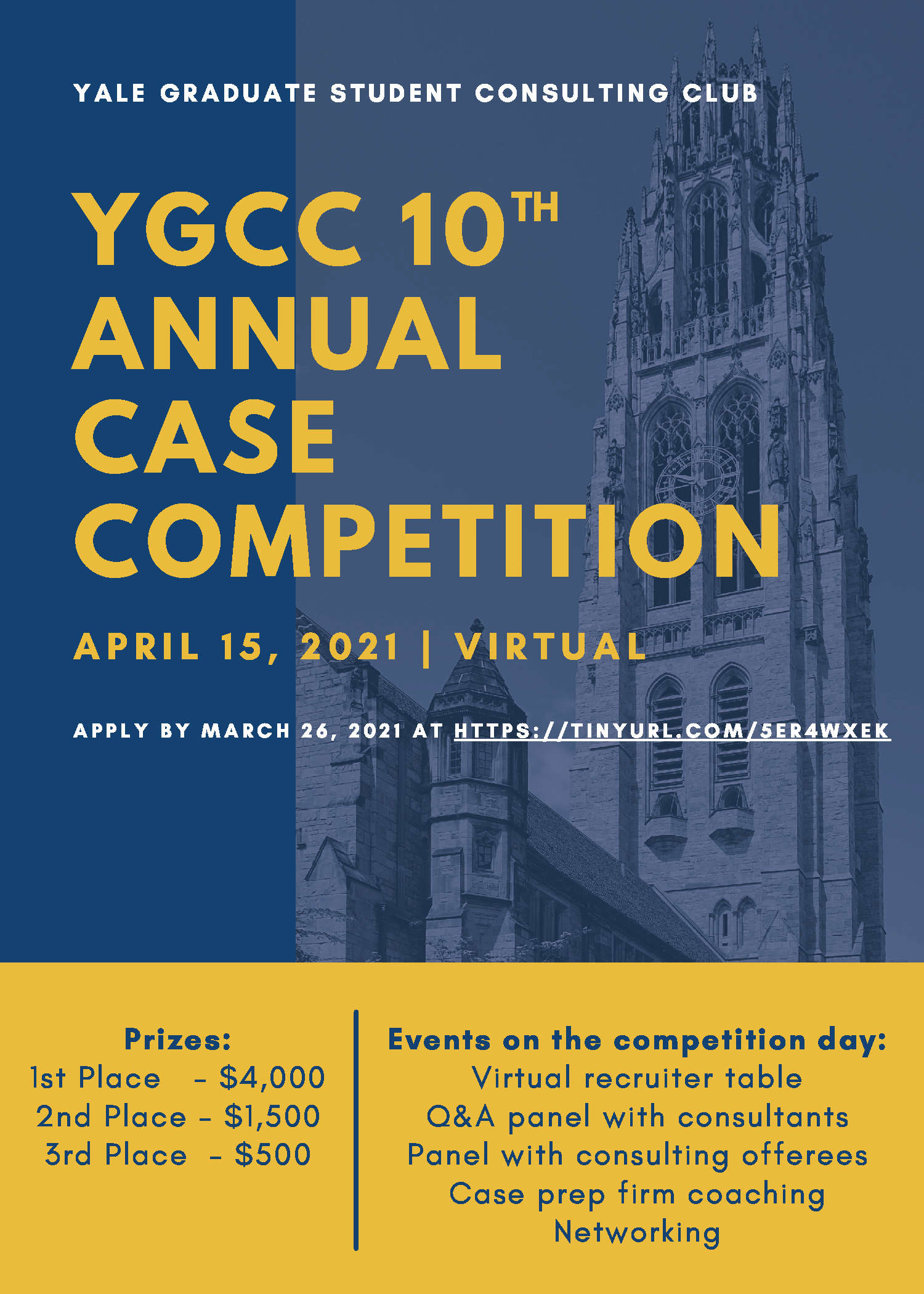 YGCC 2021 Case Competition: Apply by March 26! thumbnail image