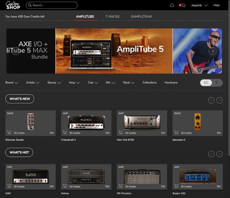 AmpliTube Custom Shop - Image