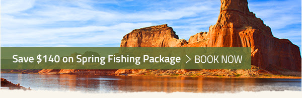 SAVE $140 ON SPRING FISHING PACKAGE - BOOK NOW