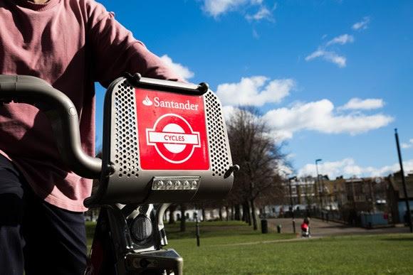 TfL Image - Santander Cycle