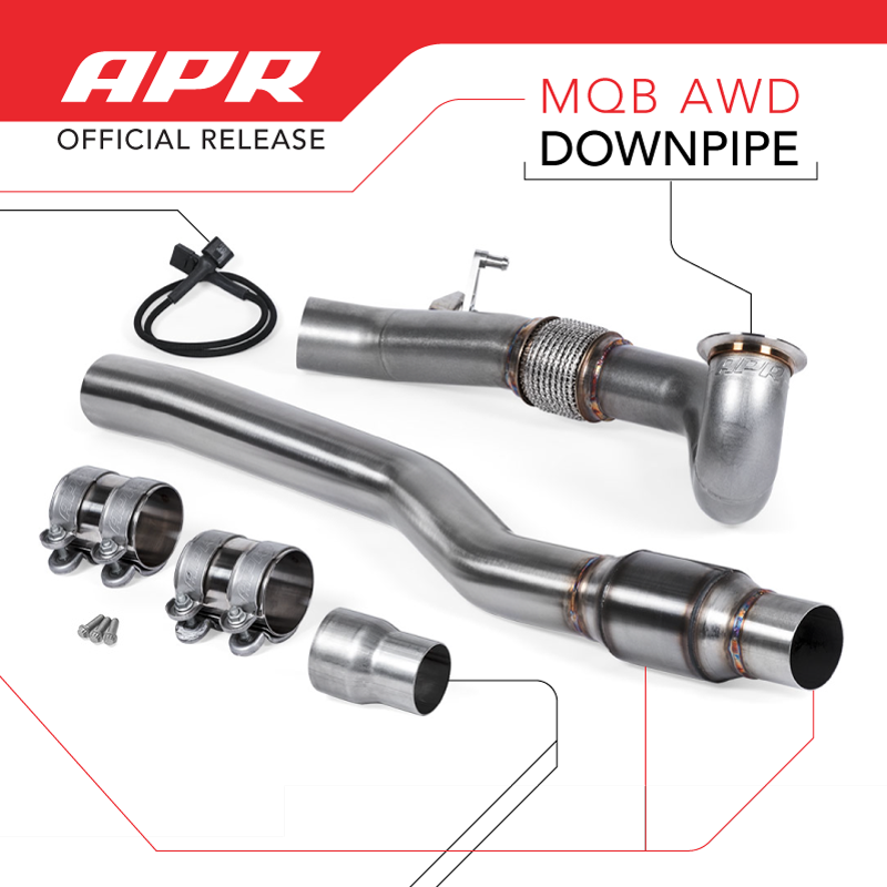 APR Downpipe for A3/S3 and Volkswagen Golf R is HERE!