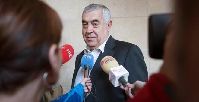 El delegado del Gobierno aragonés en Teruel, Antonio Arrufat. / EFE