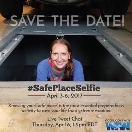 Safe Place Selfie Poster