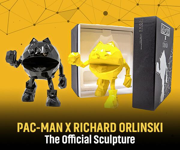 PAC-MAN X RICHARD ORLINKSI - OFFICIAL SCULPTURE