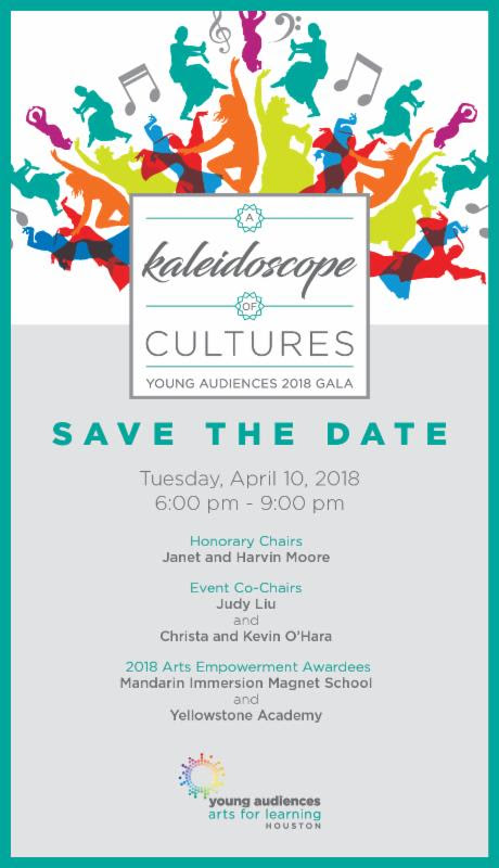 Save the Date: A Kaleidoscope of Cultures Gala @ The Junior League of Houston | Houston | Texas | United States