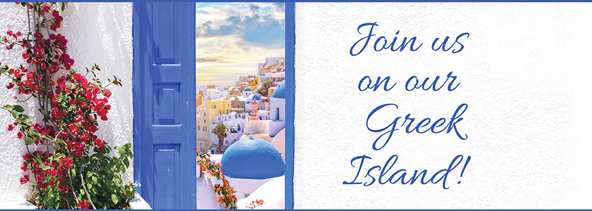 Join us on our Greek island