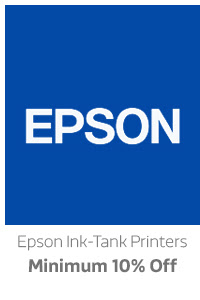 Epson Ink Tank Printers Min.10% Off