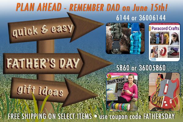 Leisure Arts Father's Day Sale