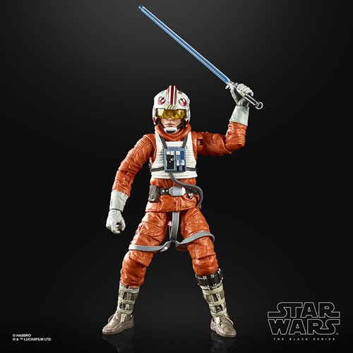 Image of Star Wars The Black Series Empire Strikes Back 40th Anniversary 6-Inch Luke Skywalker Hoth Pilot Action Figure Wave 2 - AUGUST 2020