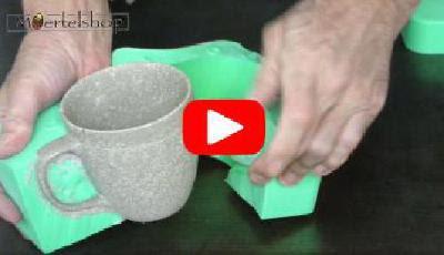 Videoanleitung Gussform Tasse