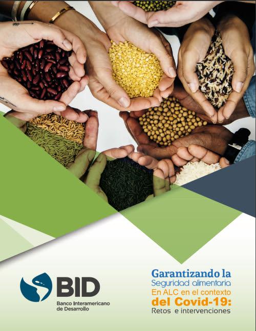 Portada del documento: Garantizando la Seguridad Alimentaria en el contexto del COVID 19