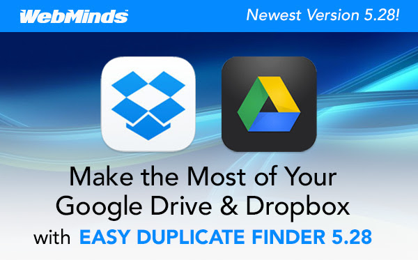 50% Off Easy Duplicate Finder to Clean Up Your Google Drive and Dropbox Files
