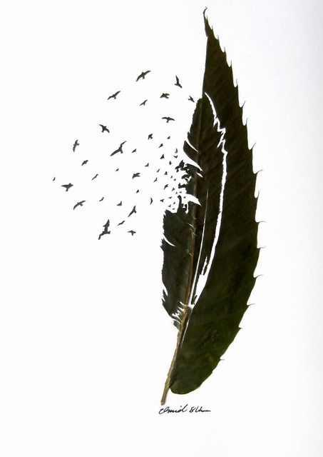 Ever Heard of Leaf-Sculptures?
