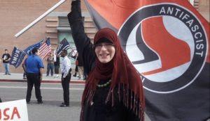 Arizona: Hijab-wearing Muslim trans Antifa militant arrested at Phoenix riot, claims to be victim of 'Islamophobia'