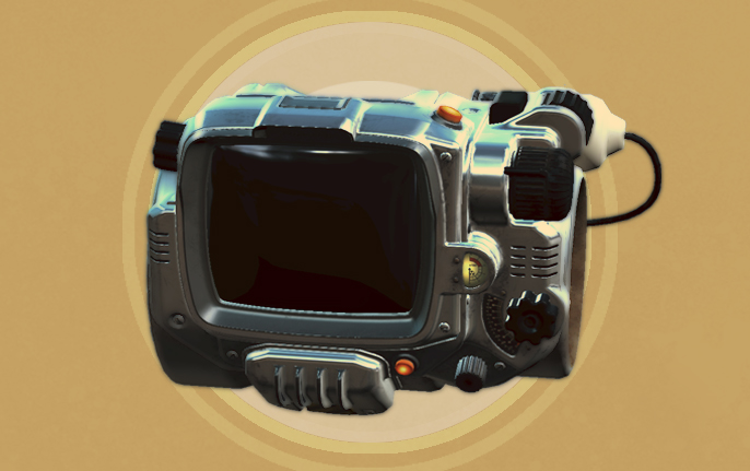 BGSFO4006-PipBoy(Chrome)