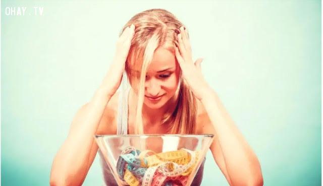 Giảm cân ,ăn nhiều đường,sống khỏe,thói quen xấu,dấu hiệu sức khỏe