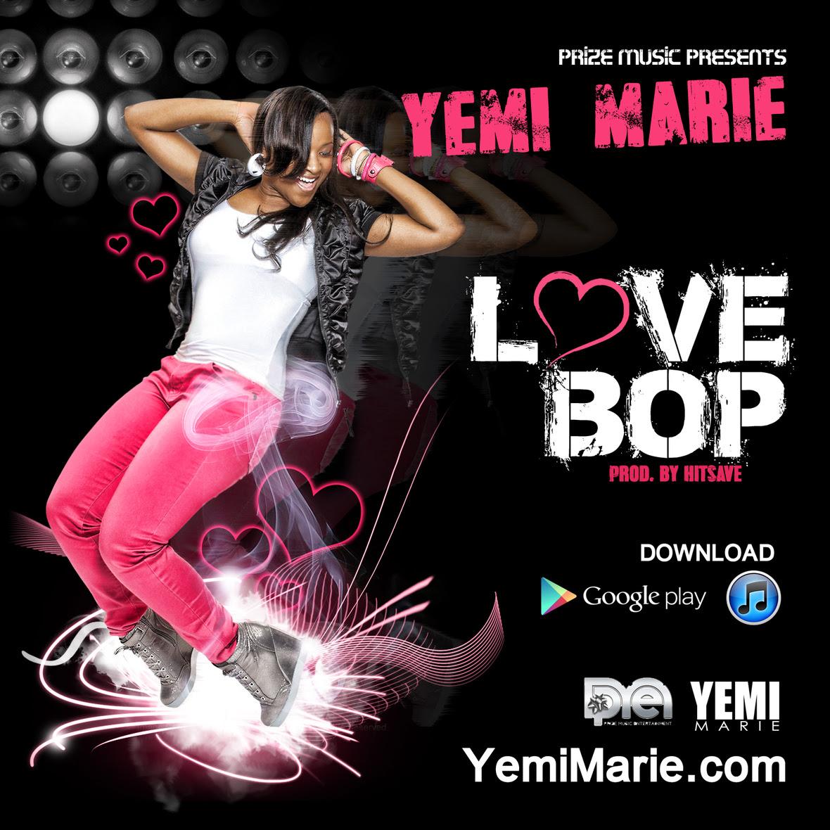 Yemi Marie - Love Bop artwork
