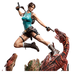 Tomb Raider Lara Croft The Lost Valley 1/4 Scale Limited Edition Statue