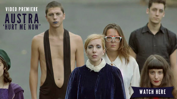 VIDEO PREMIERE: Austra's 'Hurt Me Now'