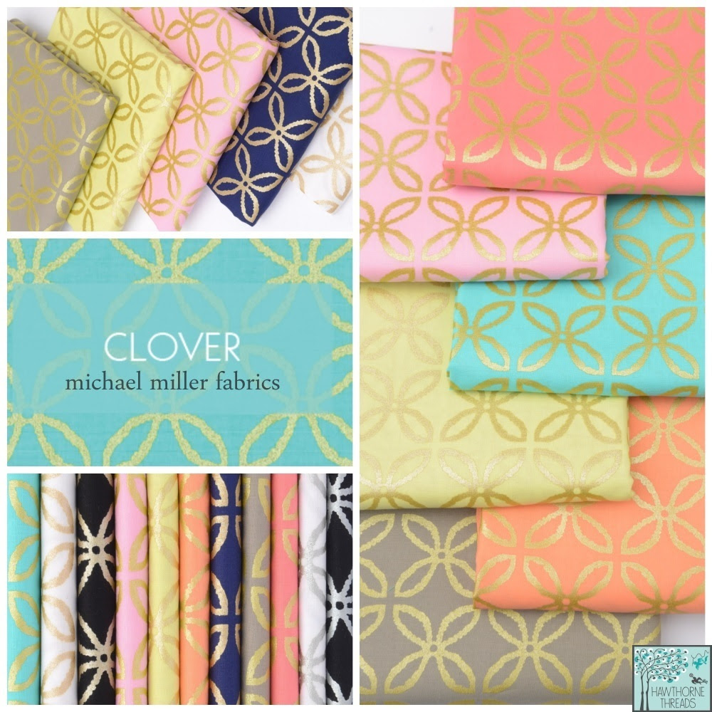 Michael Miller Clover Fabric Poster