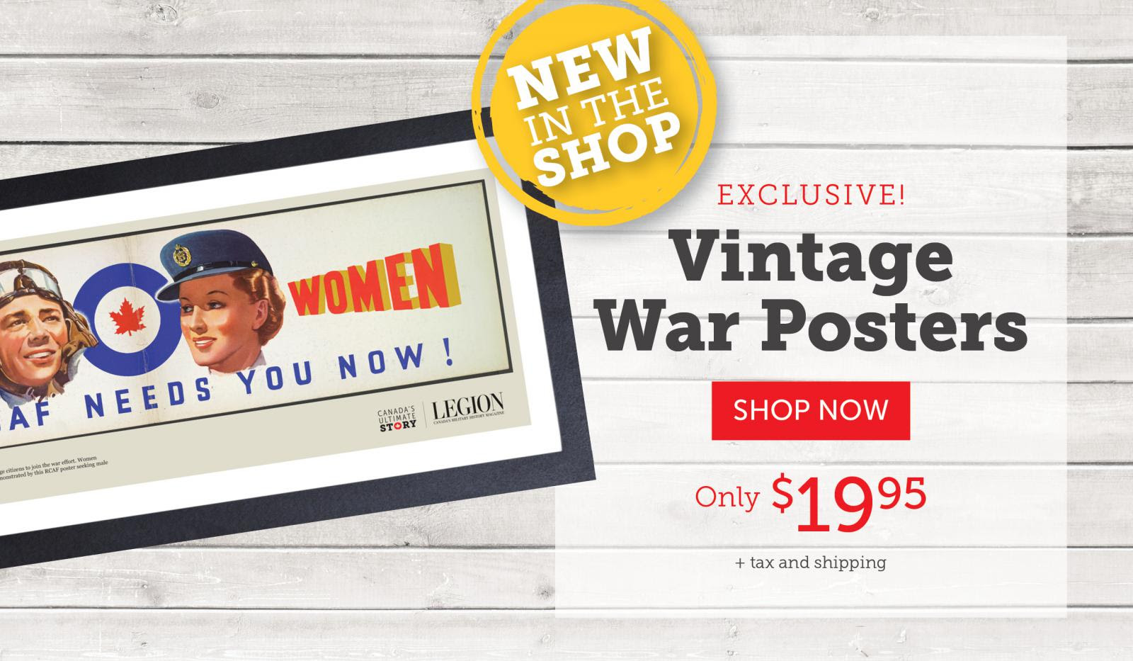 Vintage War Posters!