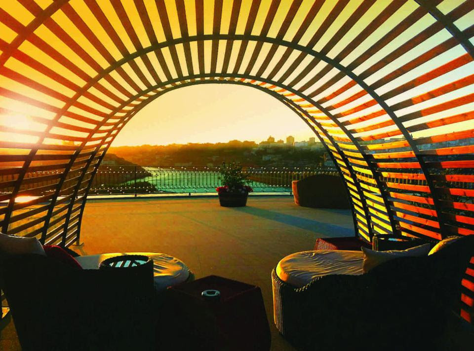 Sunset view at The Yeatman (Credit: The Yeatman)