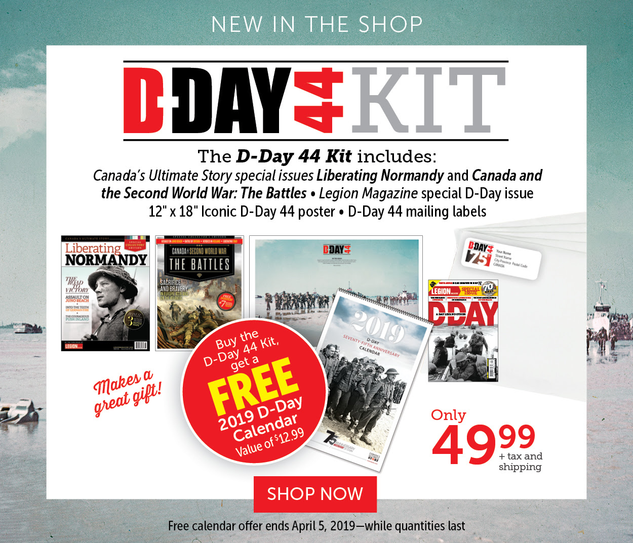 D-DAY Kit | NEW IN SHOP