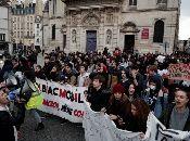 El pasado 7 de diciembre, más de 700 estudiantes de secundaria fueron detenidos durante una jornada de protestas.