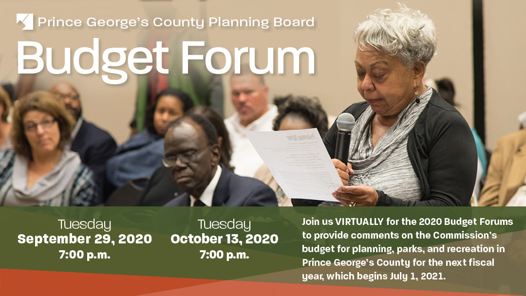 Planning Board Budget Forums