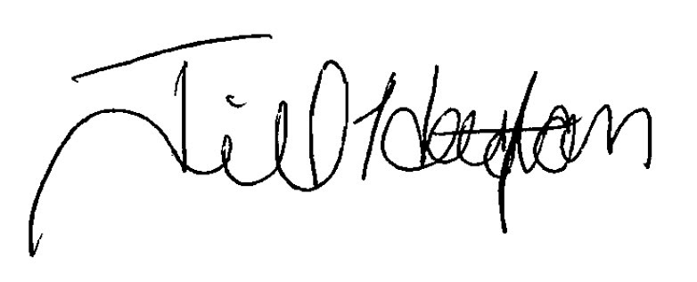 Jill Houghton's signature
