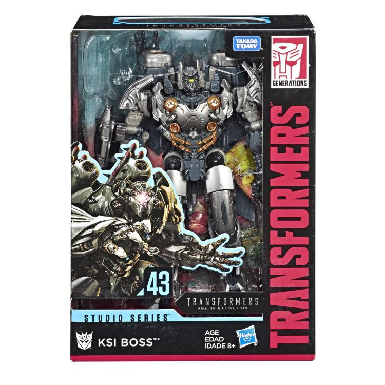 Image of Transformers Studio Series Premier Voyager Wave 7 - KSI Boss - AUGUST 2019