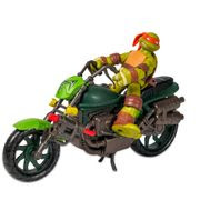 Tartarugas Ninja Veículo Moto Rippin´ Rider - Multikids