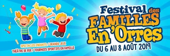6 au 8 août : festival des Familles en Orres en video