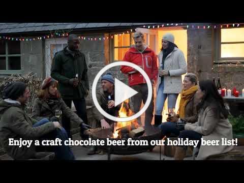 Enjoy a holiday chocolate beer this season