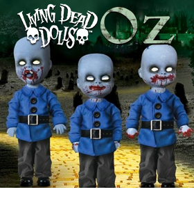 MUNCHKINS OF OZ LIVING DEAD DOLLS THREE PACK