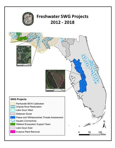 Freshwater Projects Map
