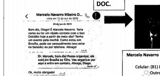 imagem - Whatsapp - Marcelo Navarro (Foto: Reprodução)