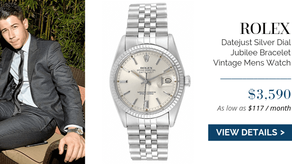 Datejust Silver Dial Vintage