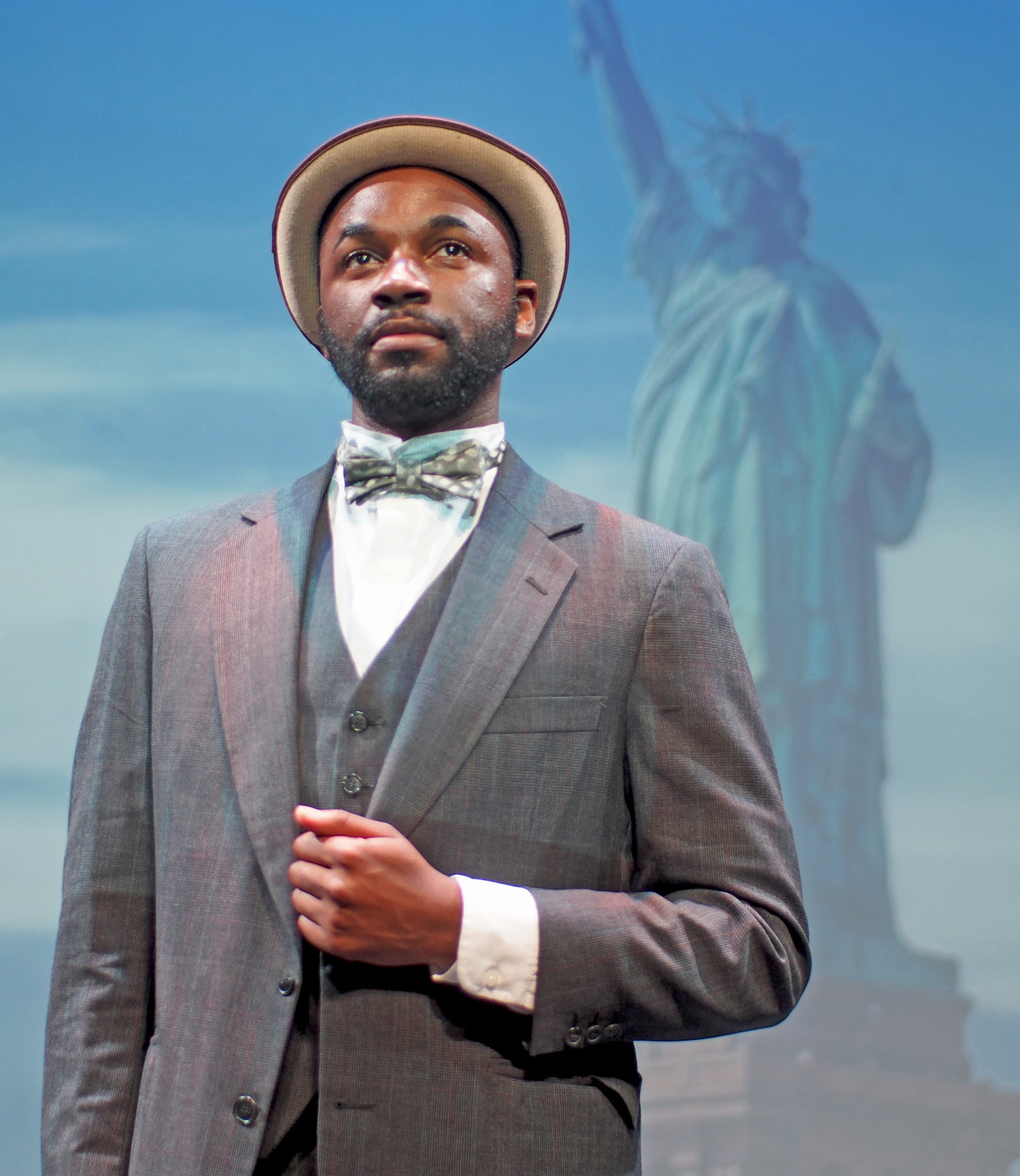 Boston's Todd McNeel Jr. as Booker T. Washington