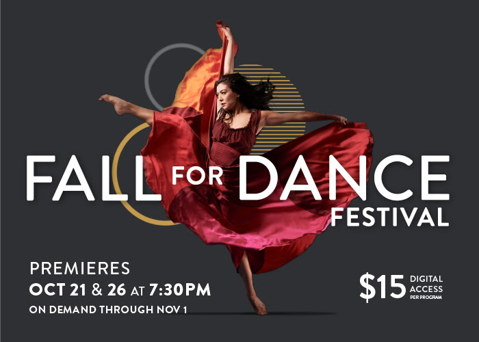 Fall for Dance Festival | Oct 21 & 26