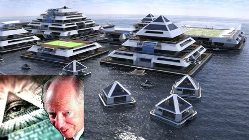 The Rothschilds are building a floating city in emergency mode. What do they know that we do not?