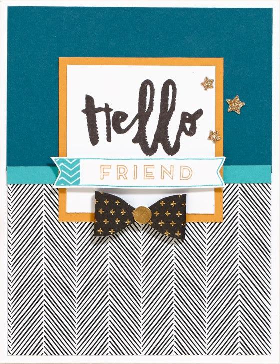 Hello, Life Cardmaking 1