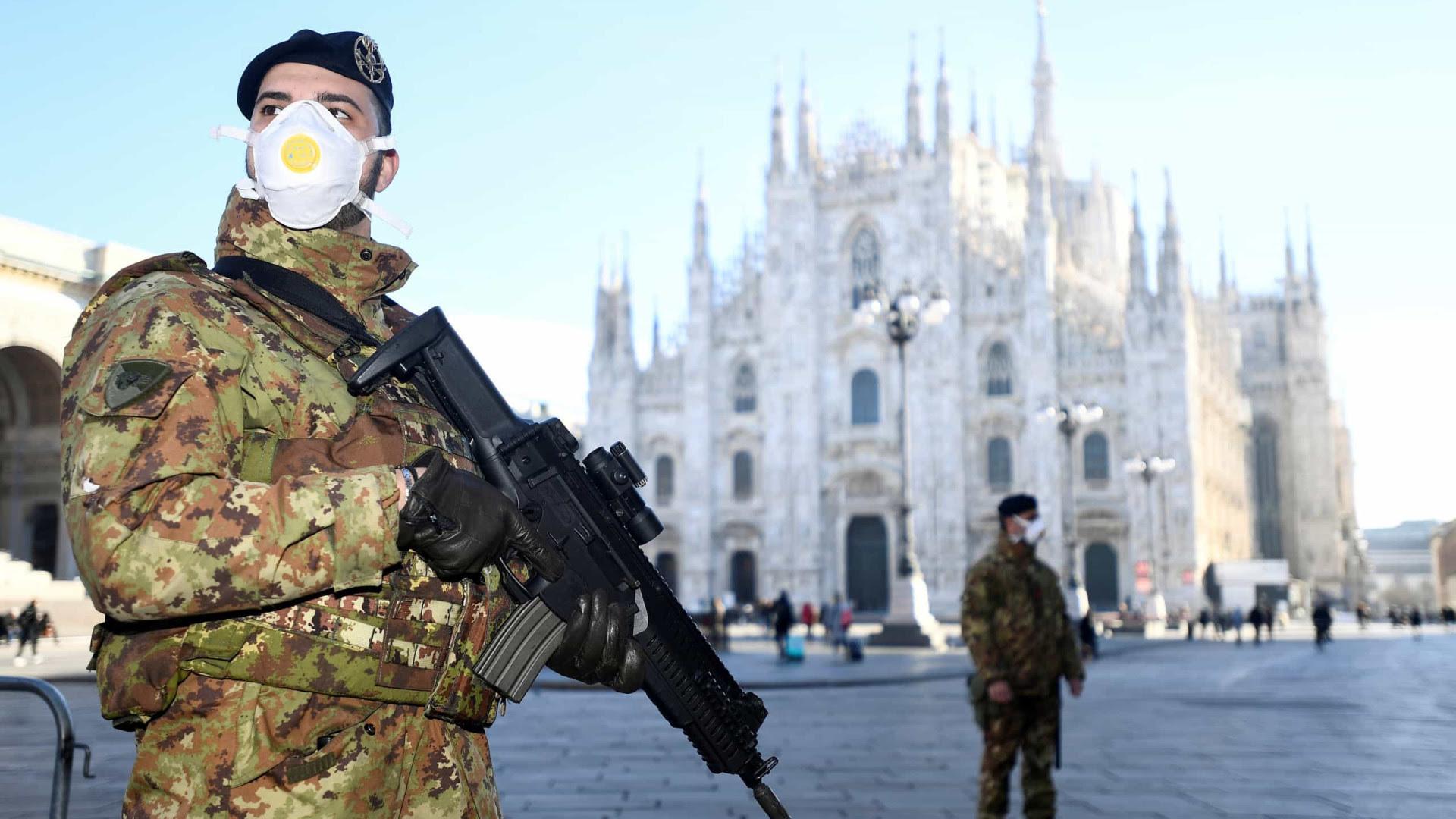 Itália fecha 16 milhões de pessoas em cidades por causa do coronavírus