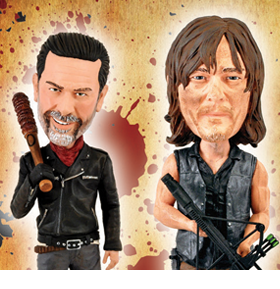 THE WALKING DEAD BOBBLEHEADS