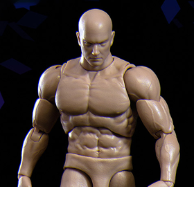 Figure Body Zero 1/12 Scale Action Figure