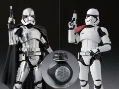 STAR WARS S.H.FIGUARTS CAPTAIN PHASMA & STORMTROOPER SET