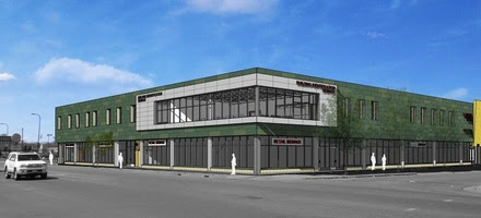 West Broadway Building Rendering