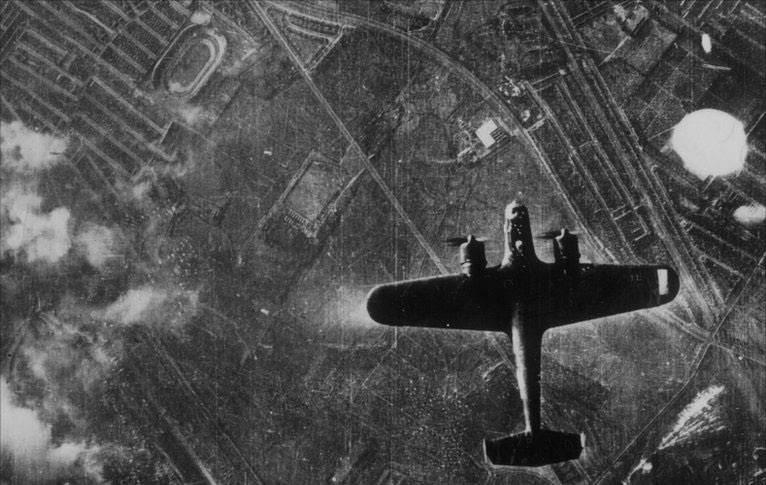 The bombing of East Grinstead