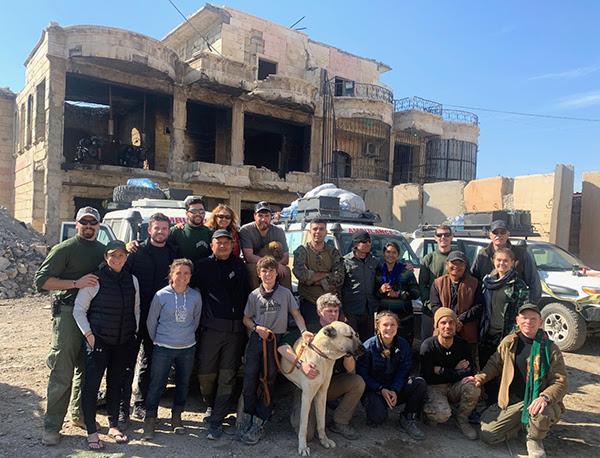 đội FBR trong Raqqa, Syria